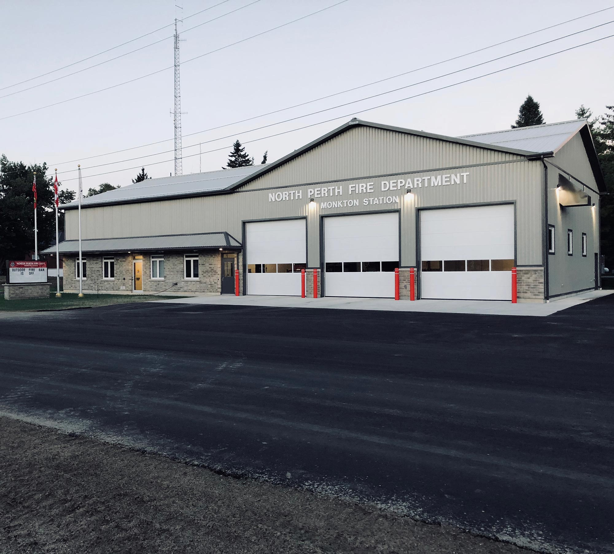 Monkton Fire Hall